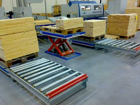 TL1000 EdmoLift scissor lift tables