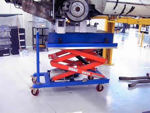 TLD1000 EdmoLift scissor lift tables